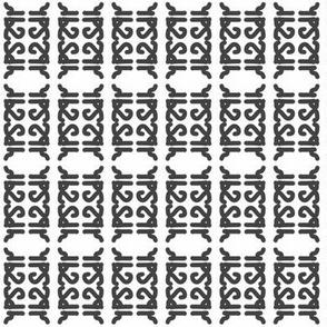 sdh icon mirrored stripes B&W