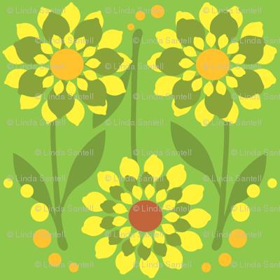 Zesty Citrus Flowers