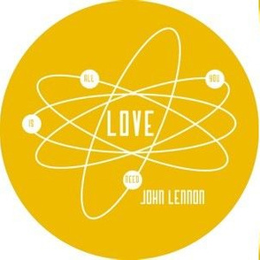 Atomic Lennon in Yellow