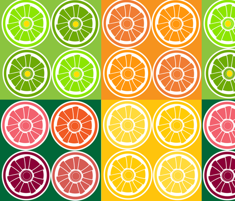 SOOBLOO_CITRUS_MORE-1-01 fabric by soobloo on Spoonflower - custom fabric