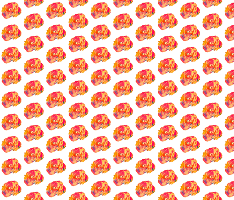 Rose fabric by mezzime on Spoonflower - custom fabric
