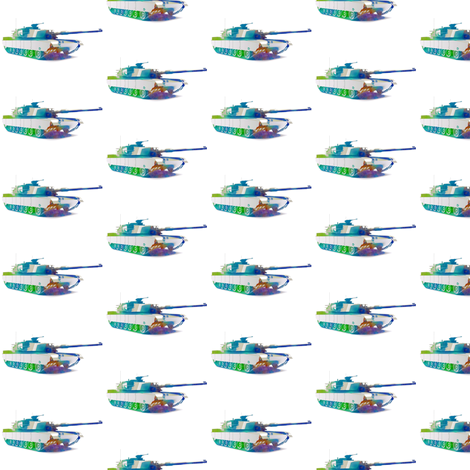 Tank fabric by mezzime on Spoonflower - custom fabric