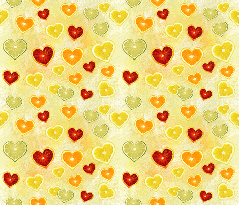 citrus love fabric by digital_bath on Spoonflower - custom fabric