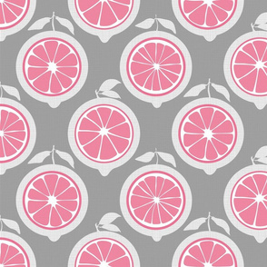 Julie's Pink Lemon Grid M