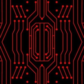 Circuit - Black/Red (Large)