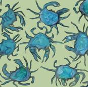 Crabs on Sand