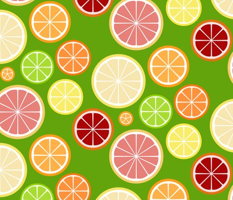 Citrus_slices_mod_lemon_on_green_shop_preview