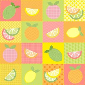 Citrus Squares Quilt
