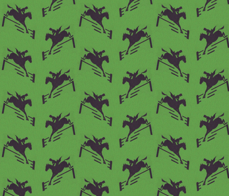 Green Jumpers fabric by ragan on Spoonflower - custom fabric