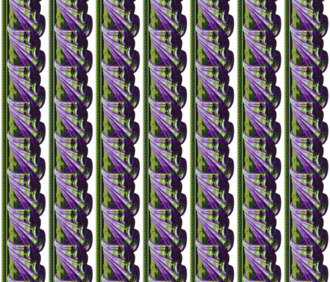 Lavender _Chartreuse_Swag fabric by kelly_a on Spoonflower - custom fabric