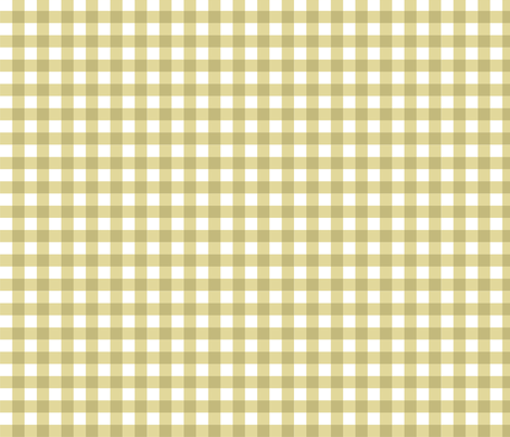 Putty_Gingham fabric by kelly_a on Spoonflower - custom fabric