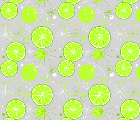 Lime-a-palooza fabric by amazinart on Spoonflower - custom fabric