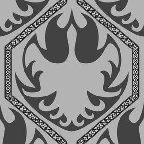 A Gemfire Phoenix (Silver Inspired Grey)
