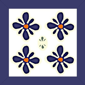 polish pottery clippable wall decal medallions