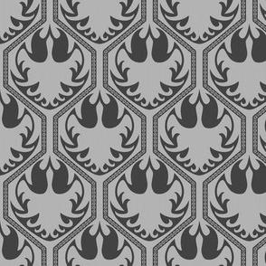 Gemfire Phoenix (Small Print) (Silver Inspired Grey)