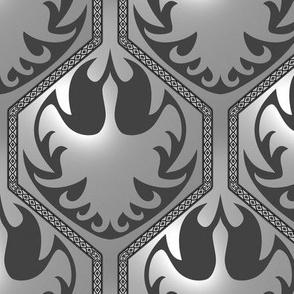A Gemfire Phoenix (Silverized Mimic)