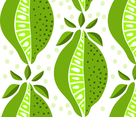 limelight fabric by kateaustindesigns on Spoonflower - custom fabric