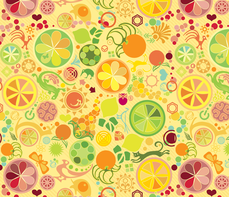 Juice Mix fabric by motyka on Spoonflower - custom fabric