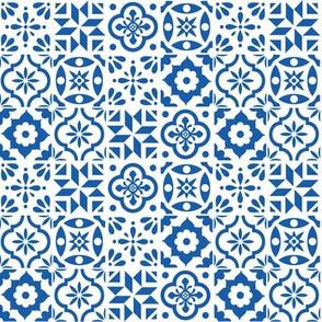 Spanish Tile Pattern - smaller size