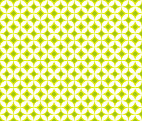 Key Lime Mod fabric by brainsarepretty on Spoonflower - custom fabric