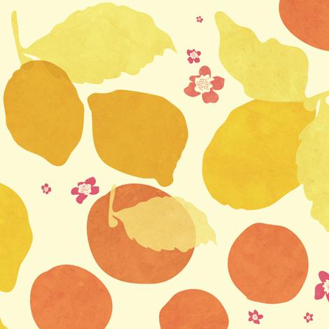 Pink Lemonade fabric by chrissievh on Spoonflower - custom fabric