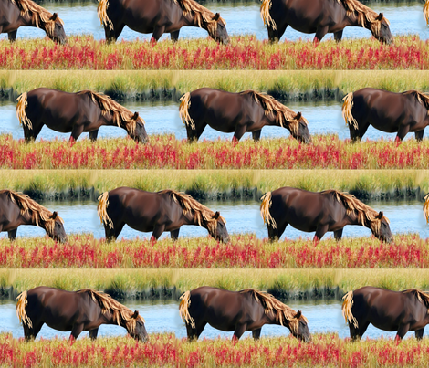 wild_pony fabric by dogdaze_ on Spoonflower - custom fabric