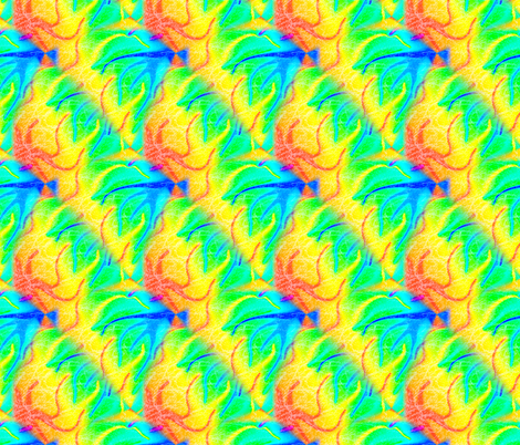 Rainbow Hazed fabric by trgatesart on Spoonflower - custom fabric