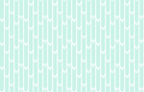 barbell_chevrons_ocean fabric by caseydsibley on Spoonflower - custom fabric
