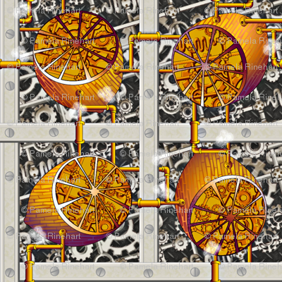 Steampunk Lemons - How Lemonade is Made - Full Steam Ahead Big