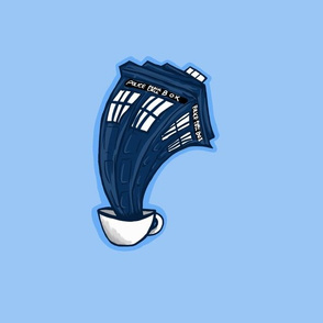 Tardis in a teacup