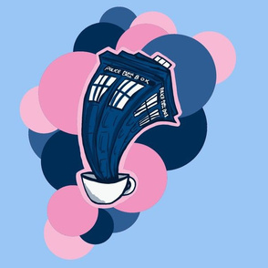 Tardis in a teacup pink!
