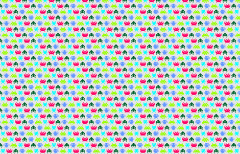 Space Invaders #1 fabric by loffloff on Spoonflower - custom fabric
