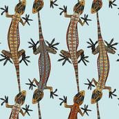 gecko stripe blue