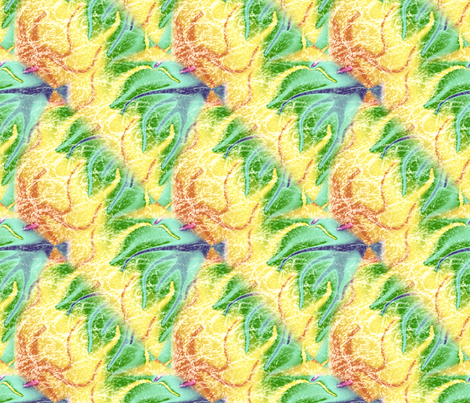 Sprite Trail fabric by trgatesart on Spoonflower - custom fabric