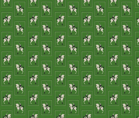 Deco Polo - Green fabric by ragan on Spoonflower - custom fabric