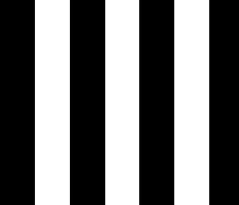 katie stripe black fabric by sandeeroyalty on Spoonflower - custom fabric