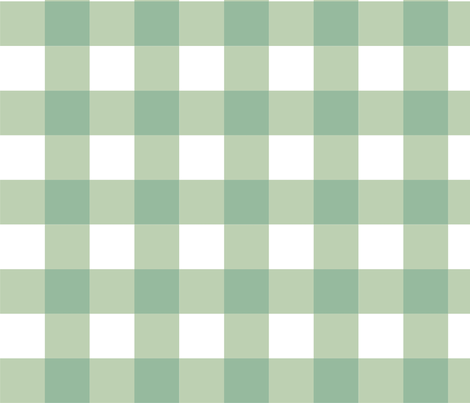 Aqua_Buffalo_Check fabric by kelly_a on Spoonflower - custom fabric