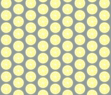 Lemonade or tequila? fabric by domoshar on Spoonflower - custom fabric