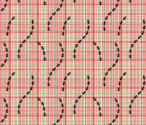Unwanted_Picnic_Guests fabric by jpdesigns on Spoonflower - custom fabric