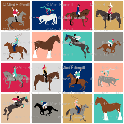 harlequin horses
