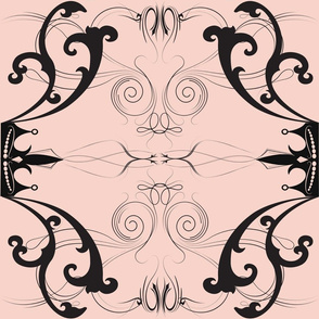 Damask Princess Pink