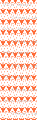 Navajo Triangles-orange