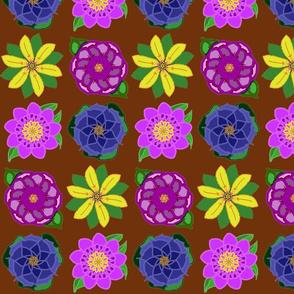 Four Flower Bouquet