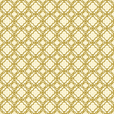 Moroccan Gold fabric by mag-o on Spoonflower - custom fabric