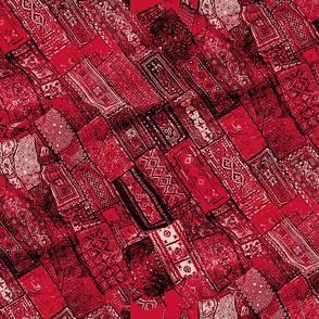 pieced reds