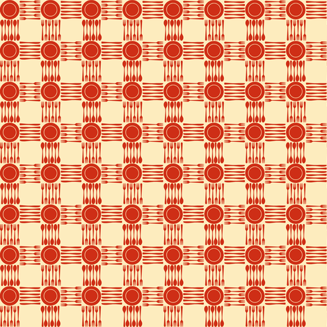 picnic gingham mini fabric by weavingmajor on Spoonflower - custom fabric