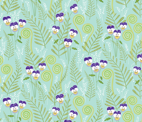 Love-in-idelness fabric by jillbyers on Spoonflower - custom fabric