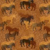 Horses Batik