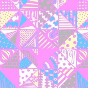 Modern Patch Pink