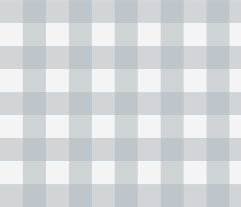 Buffalo Check in Light Blue fabric by willowlanetextiles on Spoonflower - custom fabric